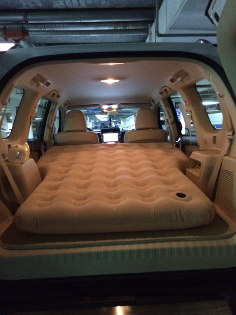 Usd 174 82 Prado Car Inflatable Bed Cushion Bed Suv Car In The Car