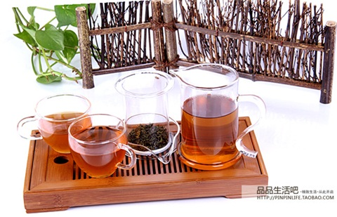 набор для чайной церемонии Чай чай стекло чай чай нагреватель, фильтр чайник утолщение высокая термостойкость стекла чайный сервиз чайник