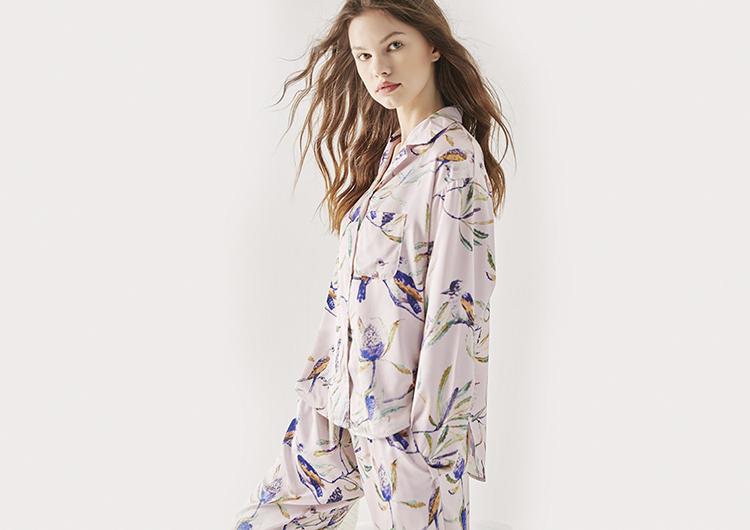 高颜值的秋季睡衣,就算外穿也能很精彩哦