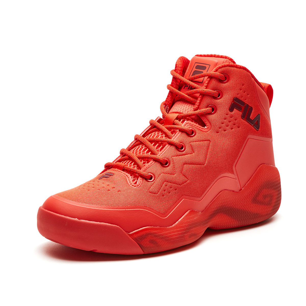 heavy fila basketball shoes mens high gang mb1 boots