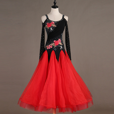 Ballroom Dance Dresses Modern Skirt Waltz High-end Performing Competition Dresses for National Standard Dance Dresses
