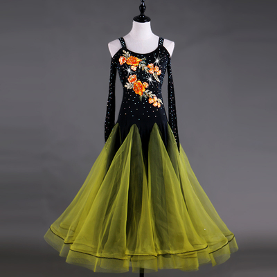 Ballroom Dance Dresses ballroom dance competition dress modern dance skirt national standard dance show skinny dress