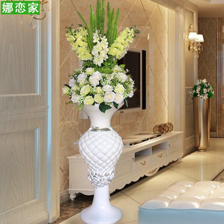 Usd 17896 Modern Fashion Simple Glass Steel Floor Large Vase