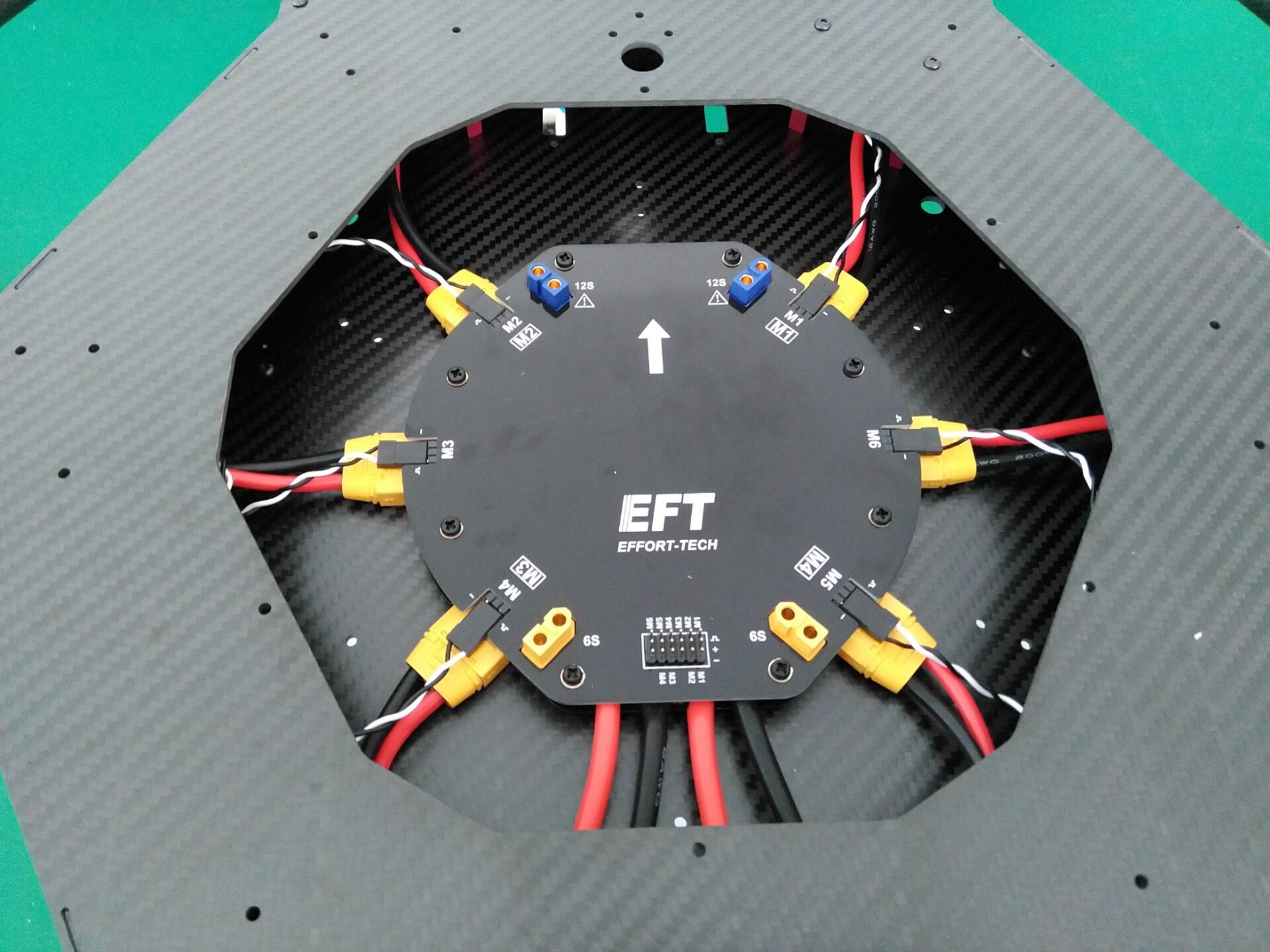 Eft High Current Power Distribution Board 4 6 Axes