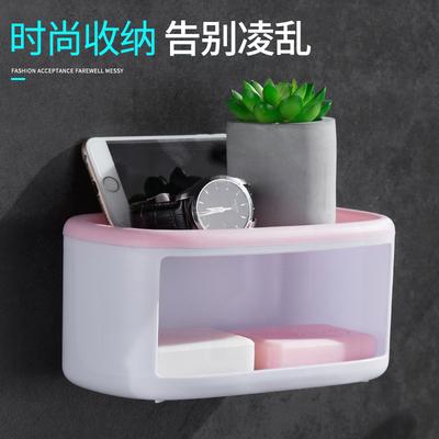 乐彼肥皂盒壁挂式新款防水香皂盒皂盒卫生间创意免打孔沥水置物架
