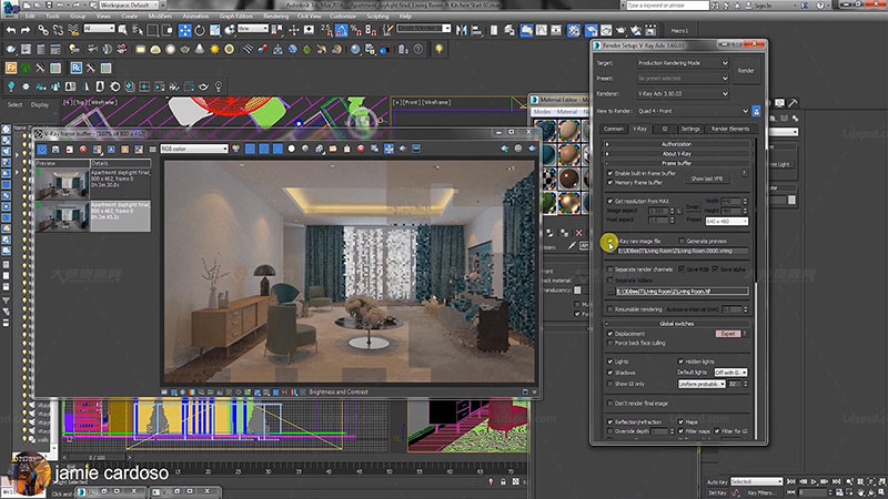 V-Ray 3ds Max Interior Rendering Tutorials.jpg