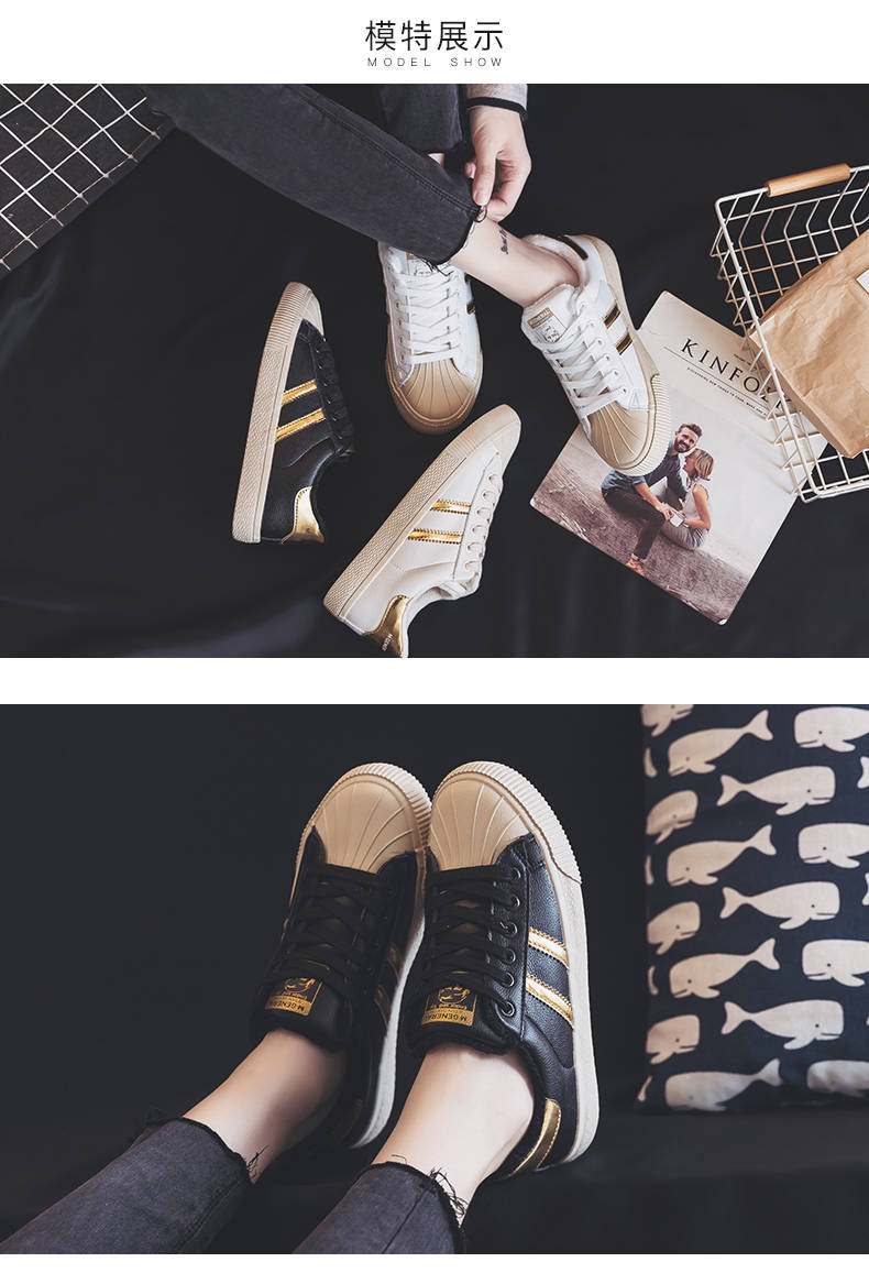 2018 new Korean version of the port winds Harajuku trend black sports canvas shoes shoes 48
