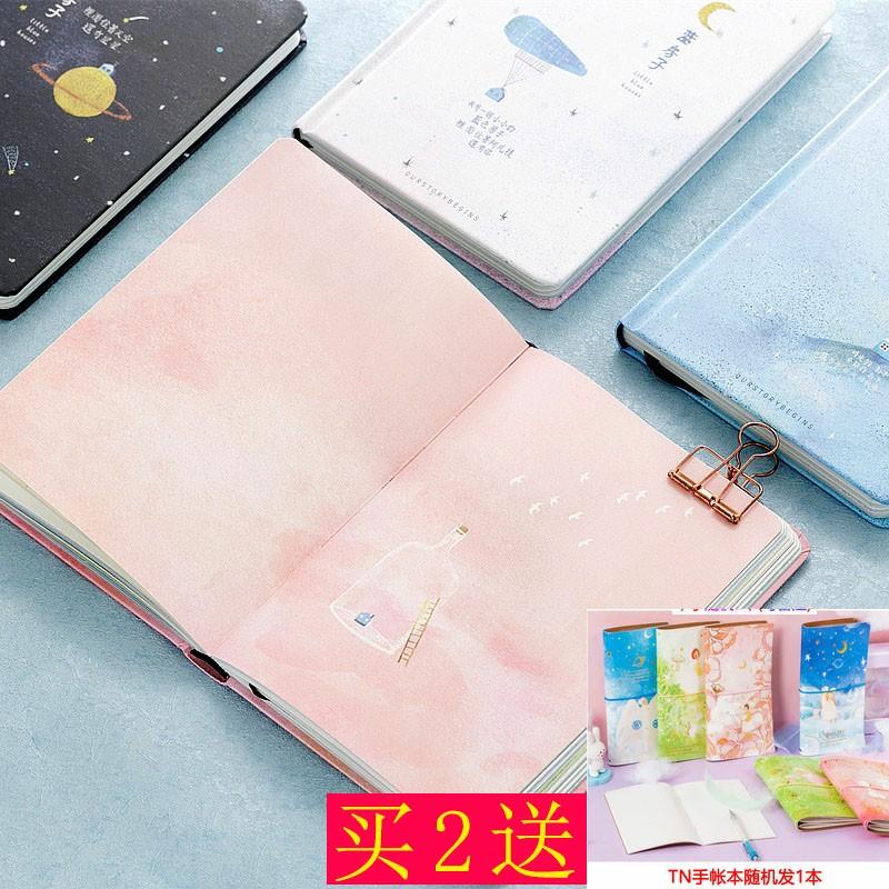ノートの文芸の精致で清新な色彩のページの挿し絵の高顔は値が高くて学生の贈り物の帳簿を精選して男女に生んであげます。
