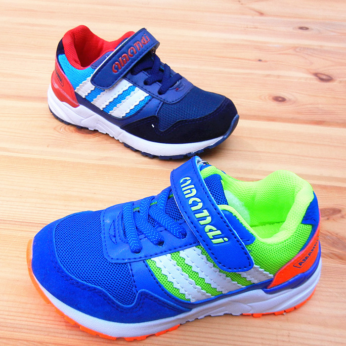a58deddbf6424 Oman Di children s shoes men spring and autumn children s shoes breathable  mesh sneakers children s non-slip running shoes girls leather