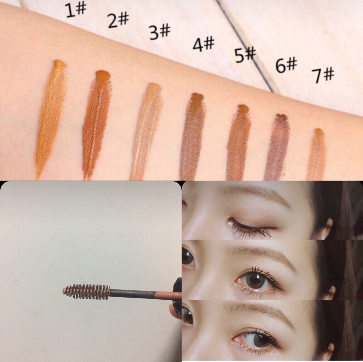 Usd 1998 Japan Native Spot Nude Makeup Natural Eyebrow Dye Eyebrow