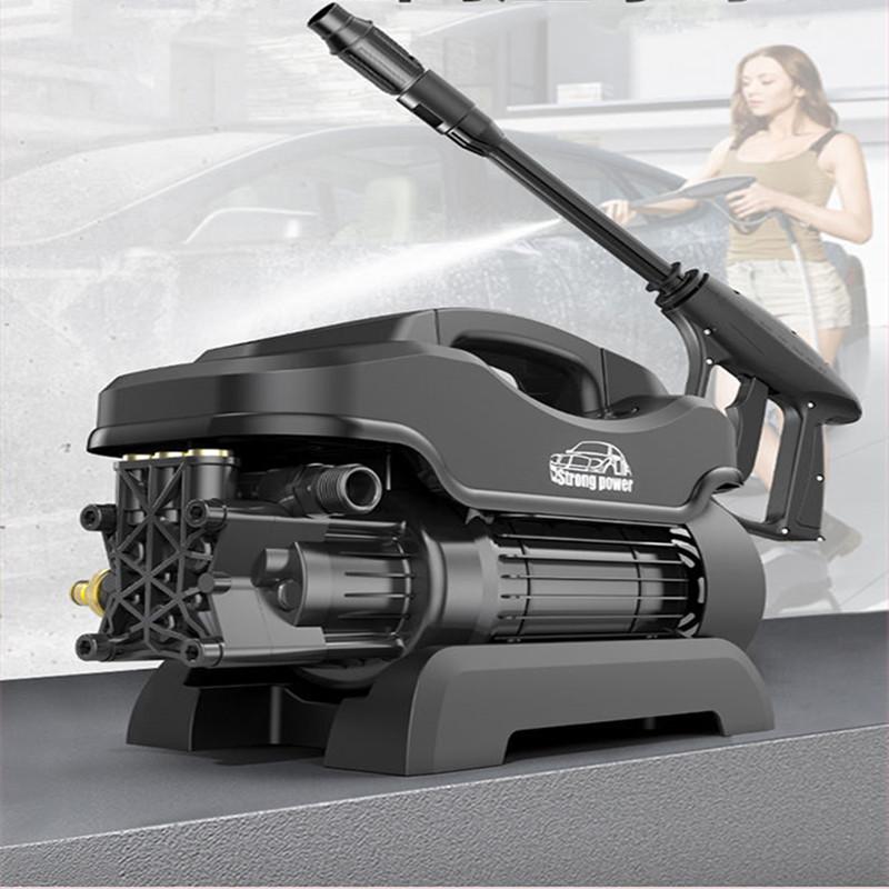 3高压洗车机全套220V家用小型刷车洗车神器洗车泵☆强力清洗机�洗车