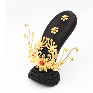Ancient wig female Han costume studio Dunhuang dance flying bun