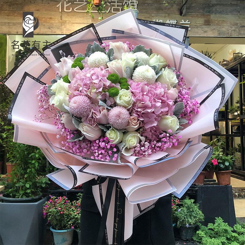 漳州花束同城v花束红玫瑰送花爱意求婚礼生日祝福泉州福州厦门鲜花