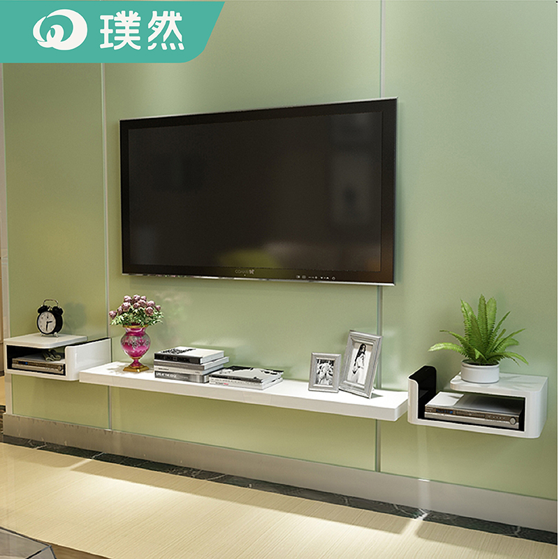 Usd 58 30 Creative Small Bedroom Tv Cabinet Set Top Box Frame Background Wall Decorative Wall Wall Wall Tv Cabinet Simple Partition Wholesale From China Online Shopping Buy Asian Products Online From