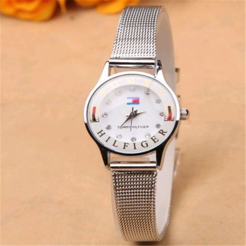 Fashion Casual Luxury Men's Women's Stainless Steel Band Quartz Wrist Watches IP