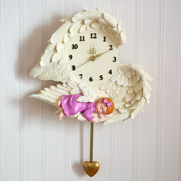 Настенные часы Qian flower love