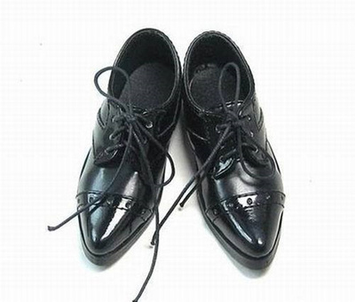 taobao agent 1/3BJD/SD doll shoes DOD LUTS RD DK and other 3-point men's baby suit leather shoes-P02
