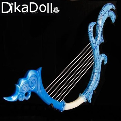 taobao agent DK-1/3 BJD/SD doll accessories, uncle 3 points 4 points baby props, musical instrument, fairy lyre