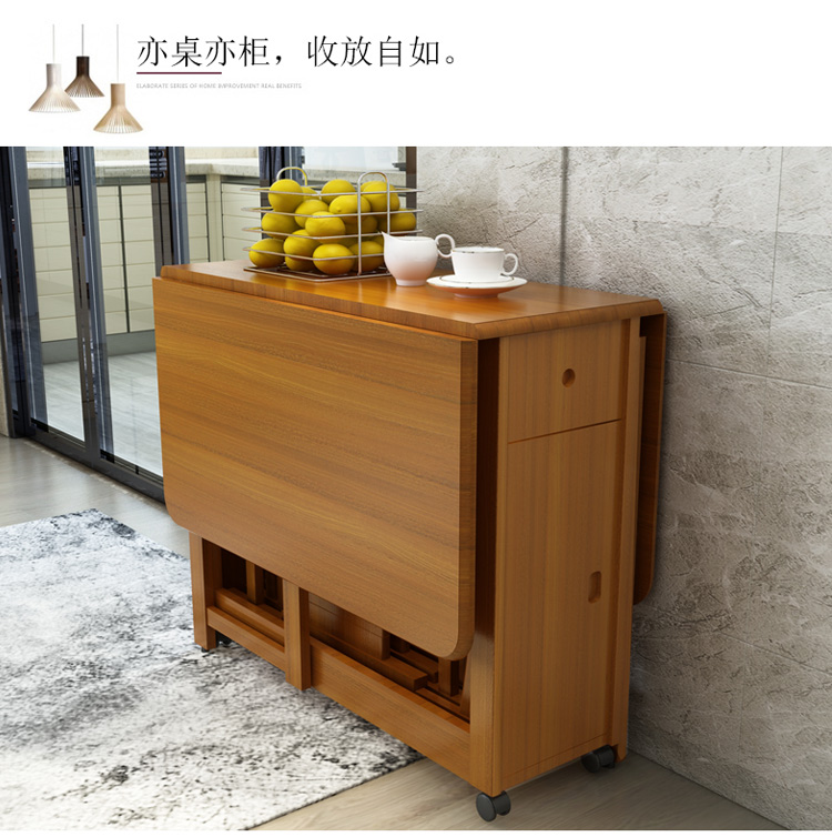 Admirable Us 599 0 Solid Wood Dining Table Folding Table Simple Retractable Oak Table Household Small Dining Table In Dining Tables From Furniture On Creativecarmelina Interior Chair Design Creativecarmelinacom