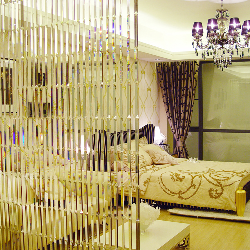 USD 11507 Sophia bead Crystal partition curtain finished curtain