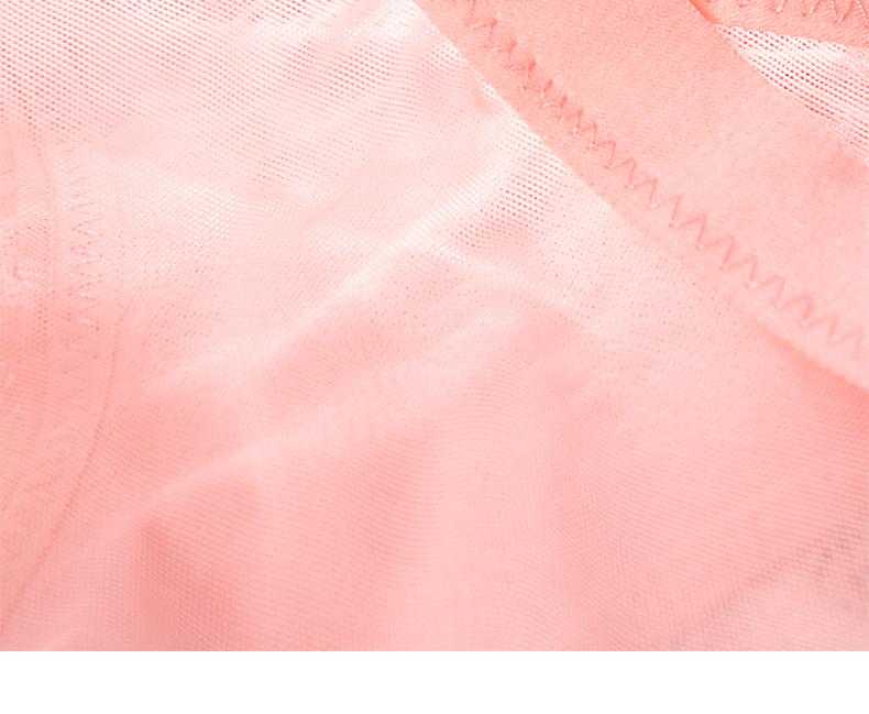 迷瞳性感内裤女蕾丝轻薄透气低腰火辣透明性惑无痕黑色包臀三角裤详细照片