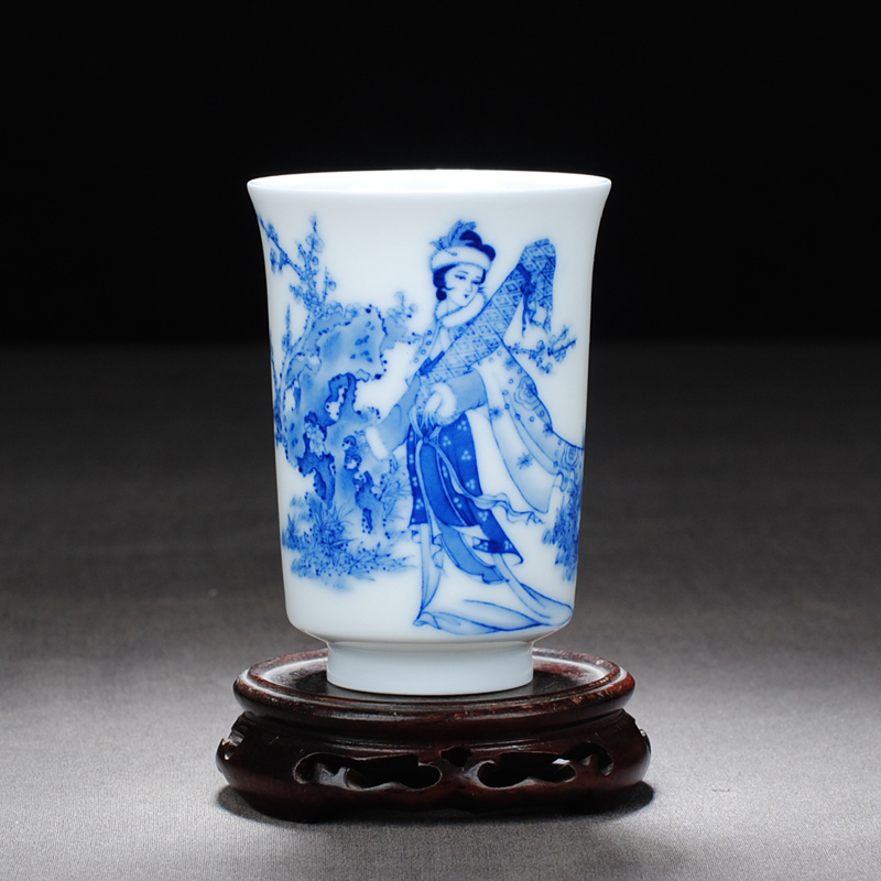 【 5.3 】 jingdezhen fill pure manual hand - made wang zhaojun
