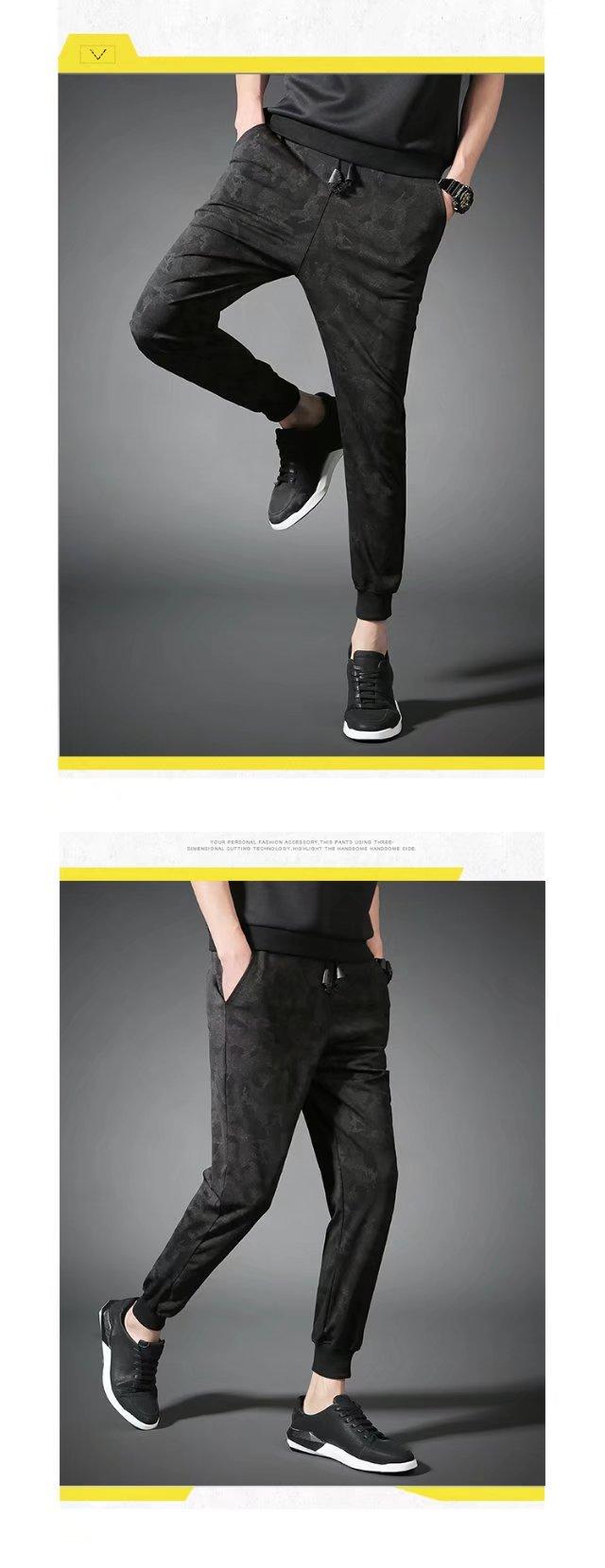 Nam quần âu nam lỏng lẻo kích thước lớn bó sát mùa hè phần mỏng xu hướng công việc màu đen chùm quần harem quần nam