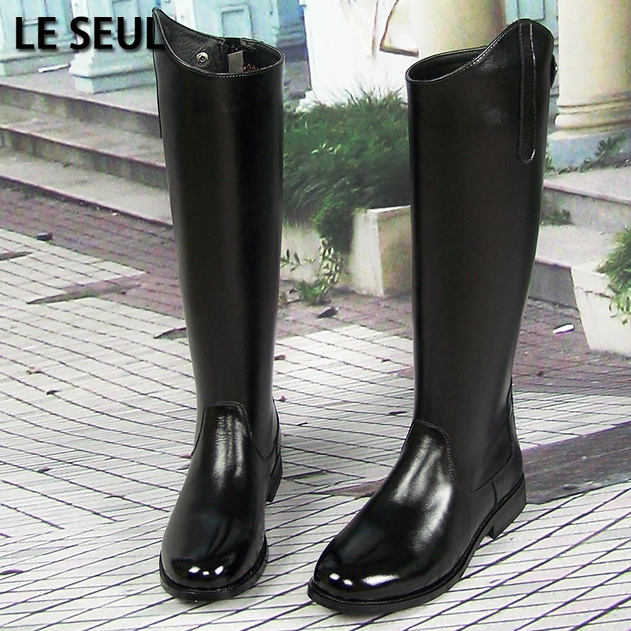 usd 73 32 men s boots high riding boots leather leather parade
