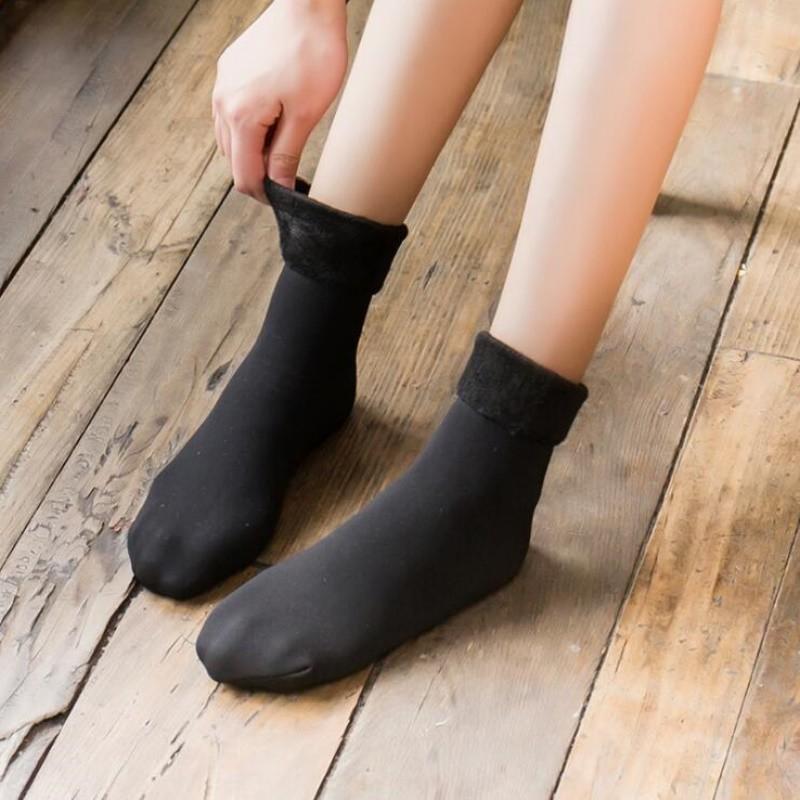 【5双装】抖音爆款加绒加厚保暖雪地袜