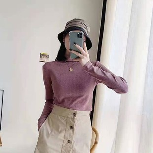 [second yuan 20 yuan] half high collar cationic shirt girl