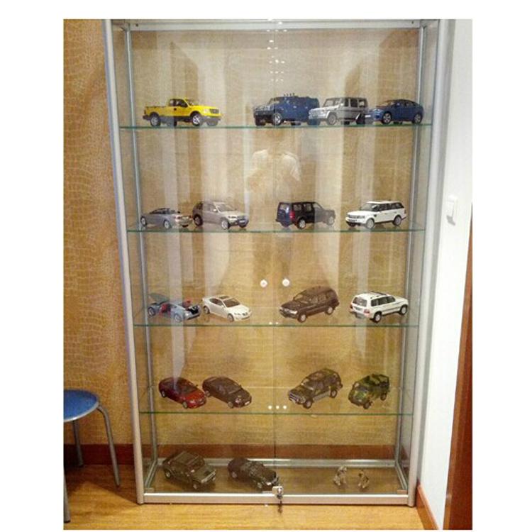 Household Dustproof Animation Model Glass Cabinet Model Animation