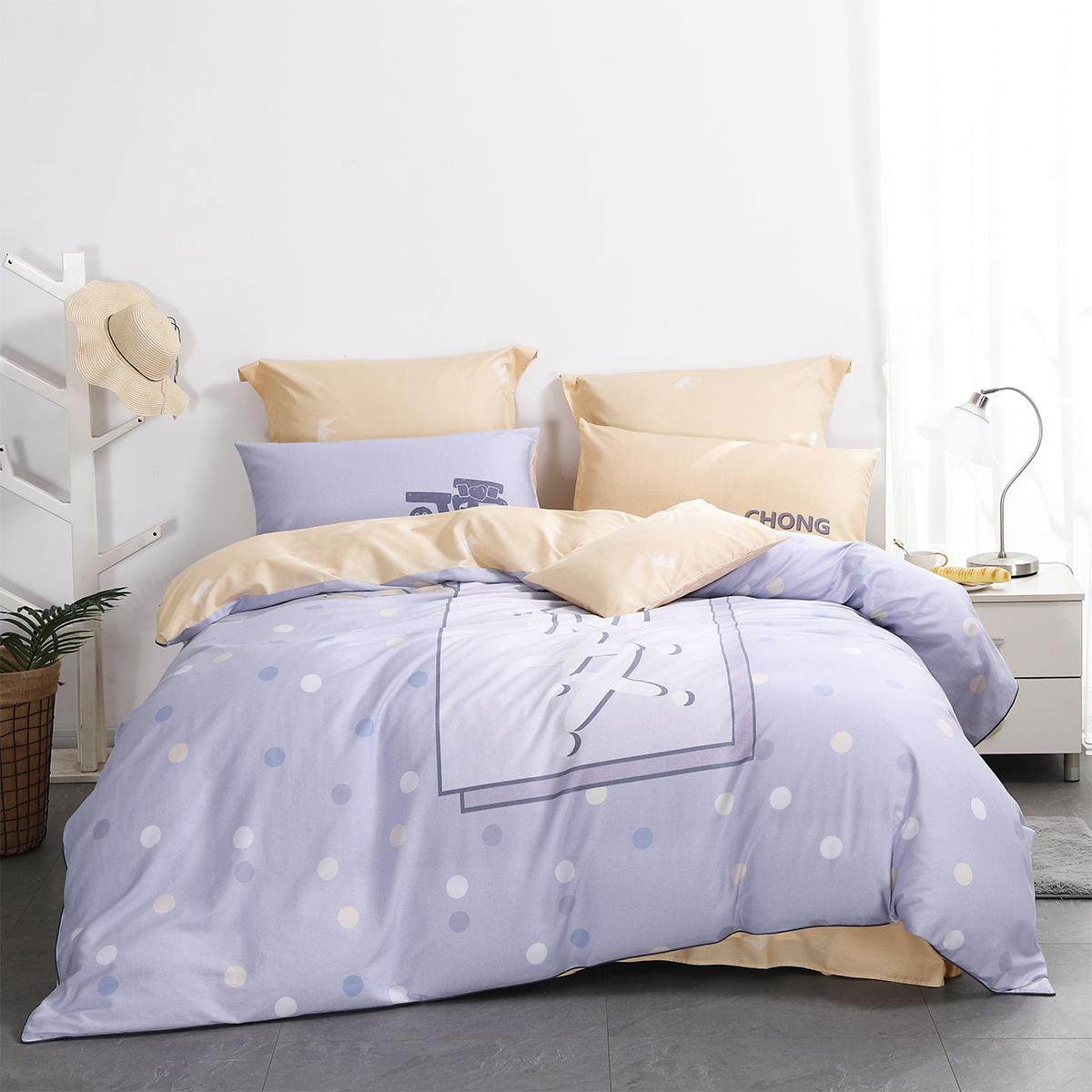 舒适的四件套,让你的卧室焕然一新