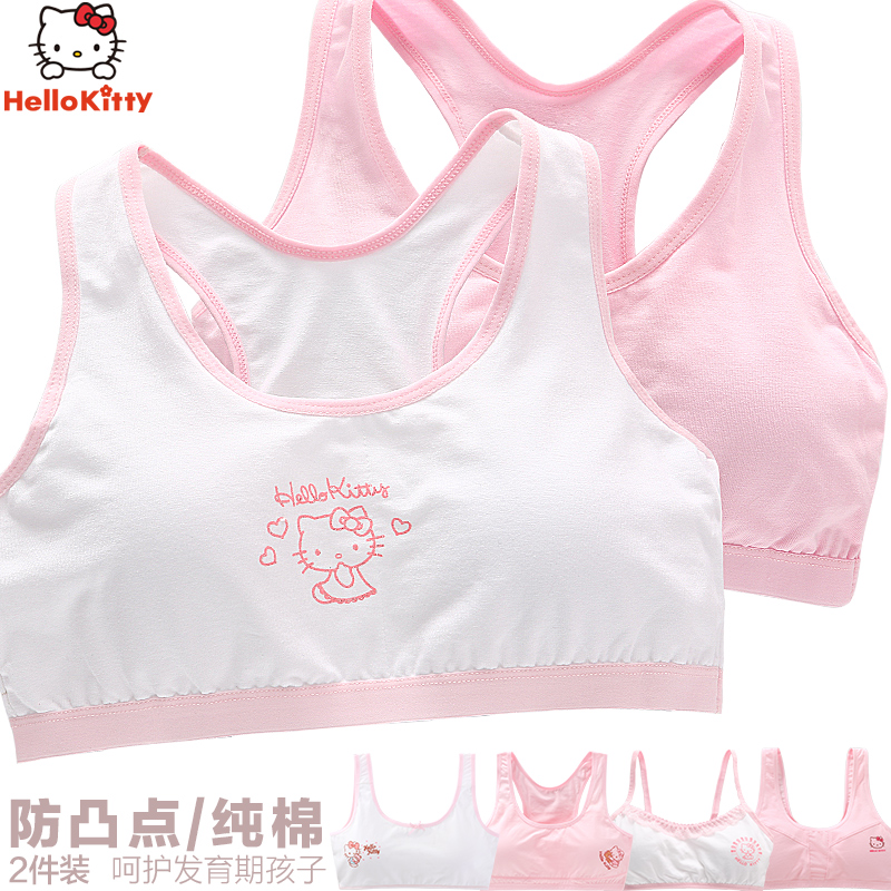 05800ee38a656 Girls underwear vest development period 9-12 years old big boy 15 bra  children primary