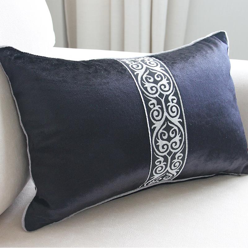 凡邦抱枕沙发靠垫家用办公室床头靠汽车欧式腰靠背枕不含芯抱枕套