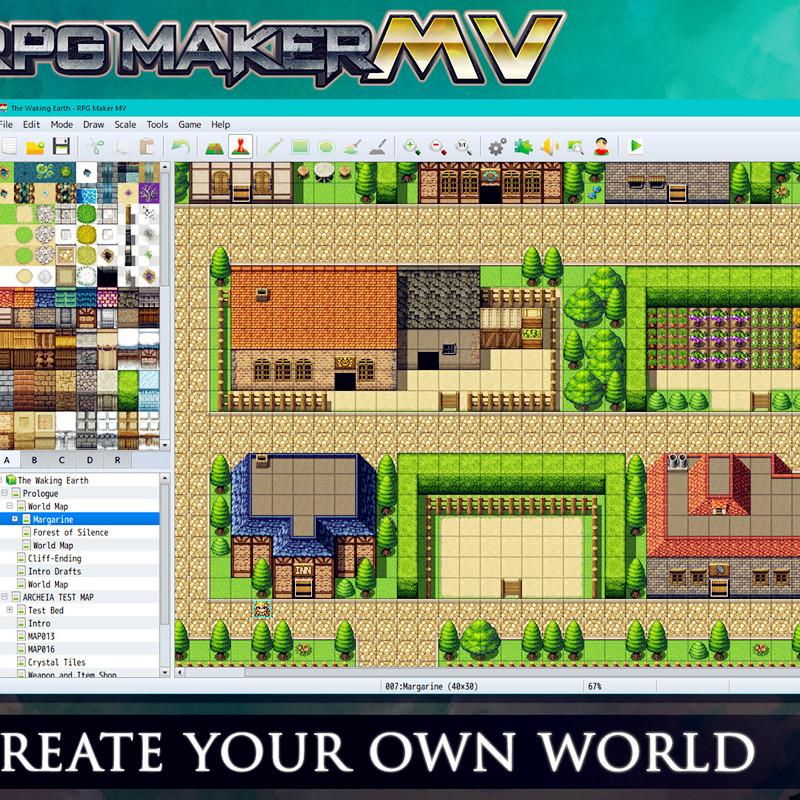 Steam genuine RPG Production Master MV RPG Maker MV Bundle collection  version of DLC ontology