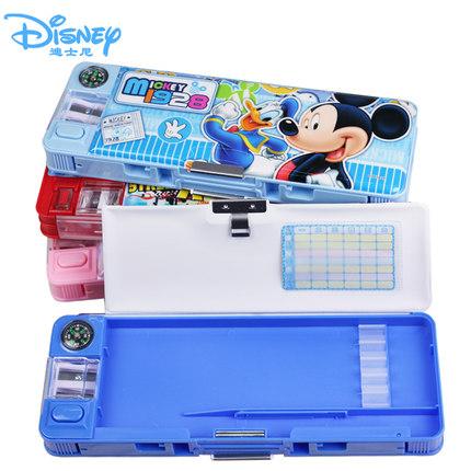 迪士尼正版授权 多功能小学生文具盒 券后9.9元