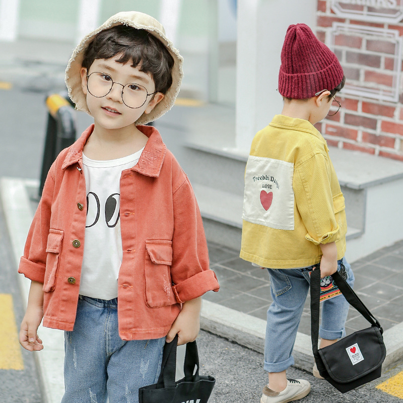 a751d1c5b USD 29.56  Boy cowboy jacket 2018 New small children Korean version ...