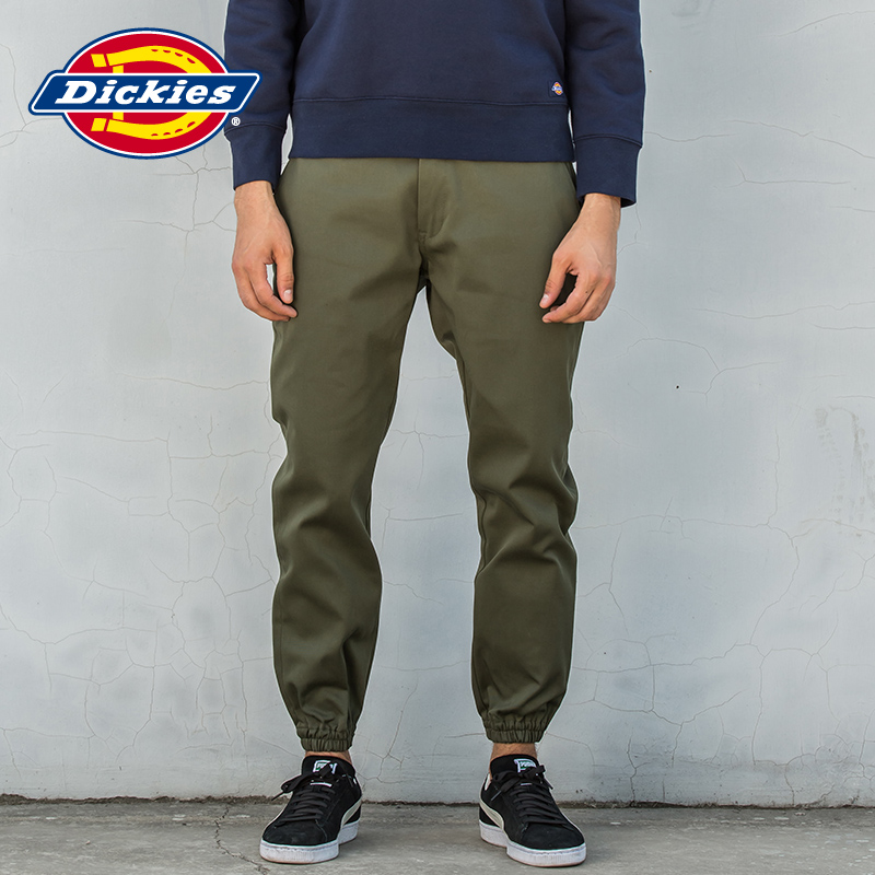 top style genuine find workmanship Dickies fashion jogging pants men'S TC twill stretch casual long pants  couple models 161M40WD02