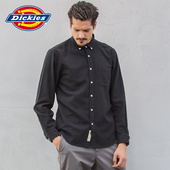 Dickies Solid Flannel Button Up