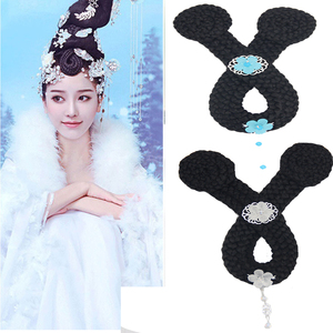 Chinese hanfu wig Tang dynasty princess empress fairy drama cosplay wig for women U-shaped bangs of the imperial concubine of the Tang Dynasty