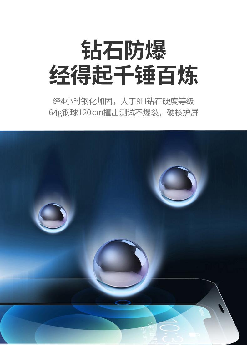 绿联 iPhone全系列 全屏幕覆盖手机钢化膜 图7