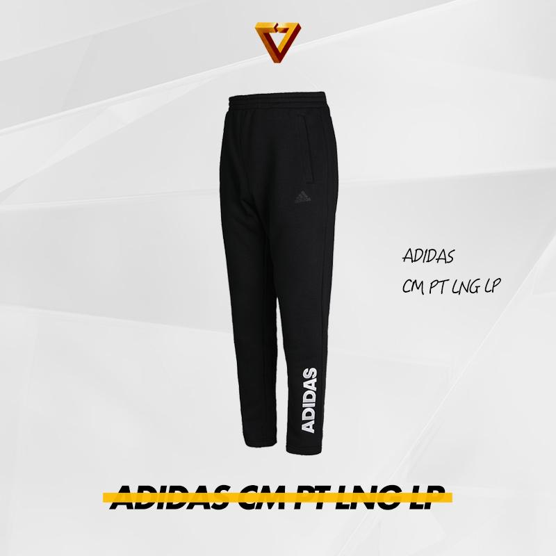 Adidas阿迪达斯2018冬季新款男裤v筒裤裤针织a筒裤筒裤直长裤DX7474