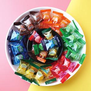 奇峰强劲薄荷糖润喉糖老式清凉水果硬糖招待糖果散装话梅糖零食