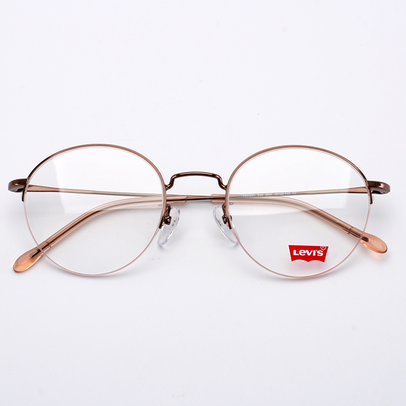 0d37fe527a7 Levi s glasses metal glasses frame light full frame men and women ...