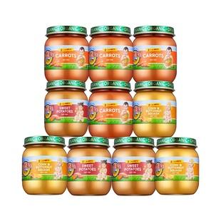 10罐裝!愛思貝寶寶輔食果泥菜泥