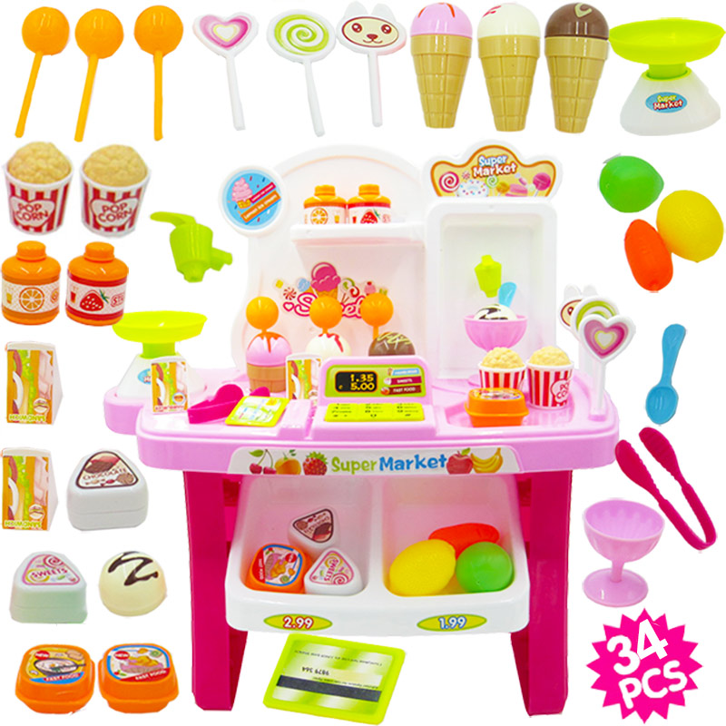 PINK CANDY SUPERMARKET (SEND BATTERY +5 FRUITS AND VEGETABLES)