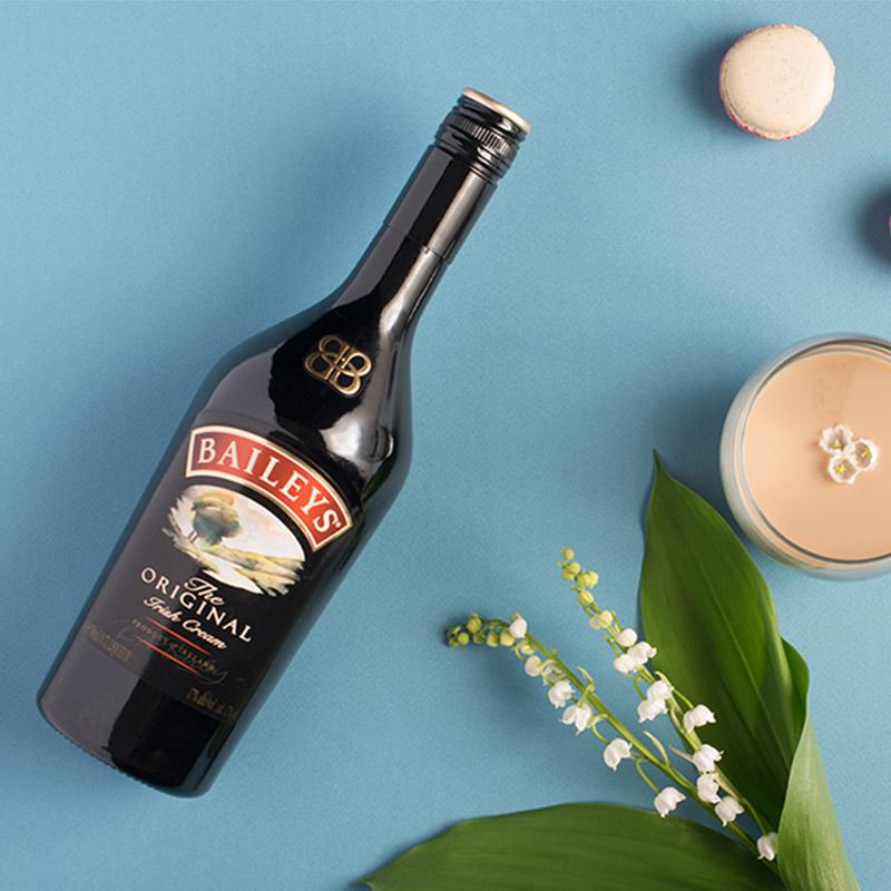 猫超次日达,爱尔兰进口:700ml Baileys百利甜酒 原味力娇酒