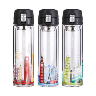 LOCK&LOCK double glass portable thermal insulation Cup
