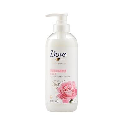 多芬/DOVE植萃精油沐浴露/乳500g源于日本含葡萄籽油玫瑰淡香