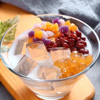白凉粉家用做果冻的白凉粉儿果冻食用自制儿童专用粉烧仙草粉500g
